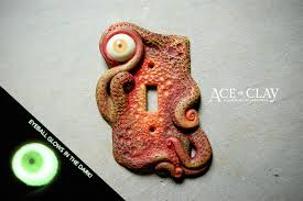 custom light switch covers handmade custom light switch or outlet cover by ace of clay