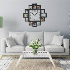 Design Home Decor Wall Clock by New Diy Wall Clock Modern Design Home Decor Photo Frame Clock