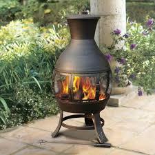 Steel Chiminea Sunjoy Steel Wood Burning Chiminea U0026 Reviews Wayfair Ca
