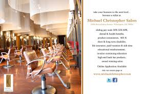 stylist wanted at michael christopher u0027s wilmington delaware salon