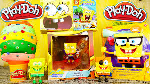 spongebob halloween background spongebob toy videos playdough surprise egg spongebob squarepants
