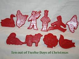 12 days of cookie cutters 28 images vintage 12 days of cookie