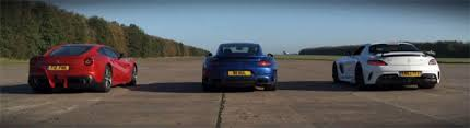 vs porsche 911 turbo drag race f12 vs porsche 911 turbo s vs sls amg black