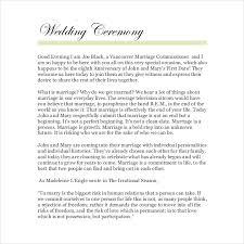 wording for wedding ceremony wedding ceremony wording 19 wedding ceremony templates free sle