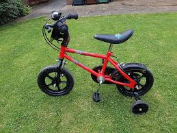 childs motocross bike kids bike with stabilisers in morley west yorkshire gumtree