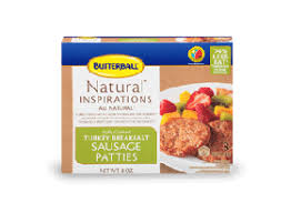 butterball cooked turkey inspirations fully cooked turkey breakfast sausage links