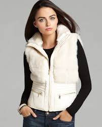 guess vest delhi moto in white lyst