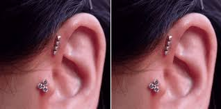 what is a helix piercing 25 amazingly cool cartilage piercing ideas