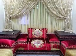tissu canapé marocain lhaf de salon marocain tissus haute qualité salons marocains