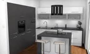 cuisine grise plan de travail noir plan de travail cuisine gris clair finest gallery of meuble de