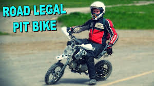 motocross bike finance make any pit bike or dirt bike road legal uk tutorial youtube