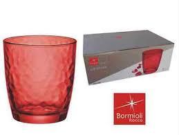bicchieri colorati bormioli bicchieri bormioli rosso zeppy io