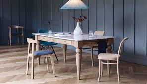 Dining Room Table Oak Cooks Oak Table With Marble Top Dining Tables Dining Room