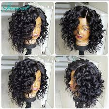 short curly bob wig 7a curly bob wigs glueless full lace human hair wigs short human