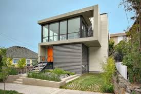Modern Narrow House by Modern Zen House Design Philippines Furthermore Modern House Exterior