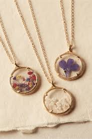 flower necklace images Pressed flower necklace in shoes accessories bhldn
