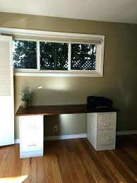 Desk With File Cabinet Desk With Filing Drawer Modern Office Desk With File Cabinets