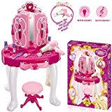 Disney Princess Vanity And Stool Disney Princess Dressing Table And Stool By Hellohome Amazon Co