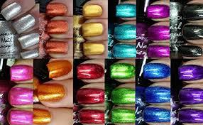 amazon com kleancolor nail polish awesome metallic full size