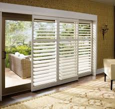 Wood Sliding Glass Patio Doors Blinds Faux Wood Blinds For Patio Doors Horizontal Blinds