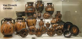 vasi etruschi quotidiano honebu di storia e archeologia il mondo degli etruschi