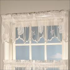 Seashell Curtains Bathroom Furniture Magnificent Anchor Valances Beachy Window Curtains