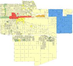 Map Of Ontario Project Areas City Of Ontario California