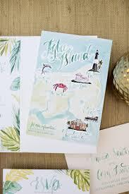 a peek into the studio watercolor amalfi wedding invitations