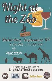 night at the zoo a 21 party at lincoln park zoo this event is