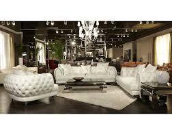 mia bella ellia leather standard sofa by michael amini sofas mb