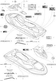 2006 sea doo gtx decals seadoowarehouse com