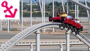 in abu dhabi roller coaster visit abu dhabi theme park yas island roller