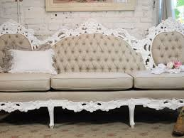 Cottage Style Sofa by Chic French Tufted Louis Sofa Chr361 1 995 00 The Painted