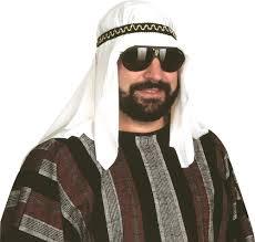 arab headband sheik hat sultan costume turban headdress headband cover ghutrah