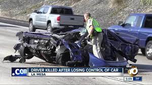 man ejected in la mesa crash sunday identified 10news com kgtv