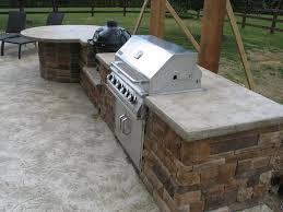 outdoor kitchen countertop ideas outdoor kitchen concrete countertops home inspirations design
