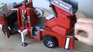 bruder fire truck bruder mercedes benz sprinter fire engine playing with bruder