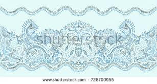 vector seamless pattern mermaid octopus stock vector
