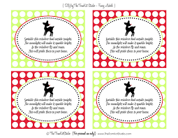 free printables reindeer food tags the tomkat studio blog