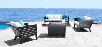 Patio Furniture Mississauga by Our Favourite Aluminium Patio Furniture For Your Poolside Cabana