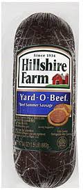 hillshire farms summer sausage hillshire farm summer sausage calories nutrition analysis more