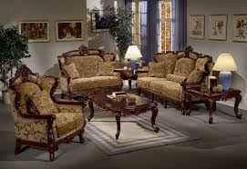 luxuriou italian style living room furniture on interior decor