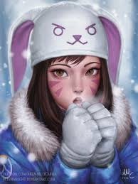 dva halloween spray overwatch winter wonderland event preview leaked info