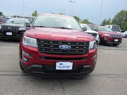 new 2017 ford explorer sport sport utility in vandalia 17t1515