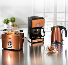 Toaster And Kettle Deals Copper Microwave Beem Nobilis Copper Style Breakfast Set Jpg