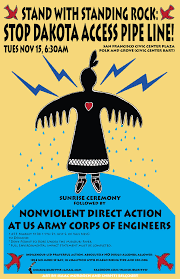 bay area stands with standing rock march on army corps of
