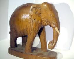 Elephant Home Decor Realistic Elephant Etsy