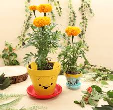 Disney Winnie The Pooh High Chair Winnie The Pooh U0026 Hunny Flower Pots Flower Terra Cotta And Craft