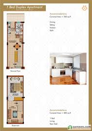 300 Sq Ft Apartment Floorplans Of Supreme Apartments Ferozepur Road Lahore Zameen Com