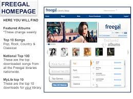 library ideas freegal freegal music freegal music offers access to nearly 3 million
